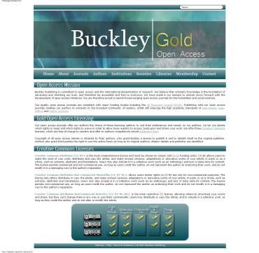 Buckley Gold Open Access Buckley and Open Access