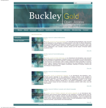 Buckley Gold Open Access Journals All