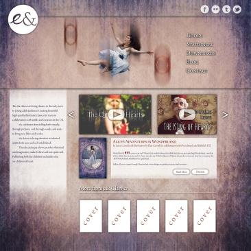 Website splash page