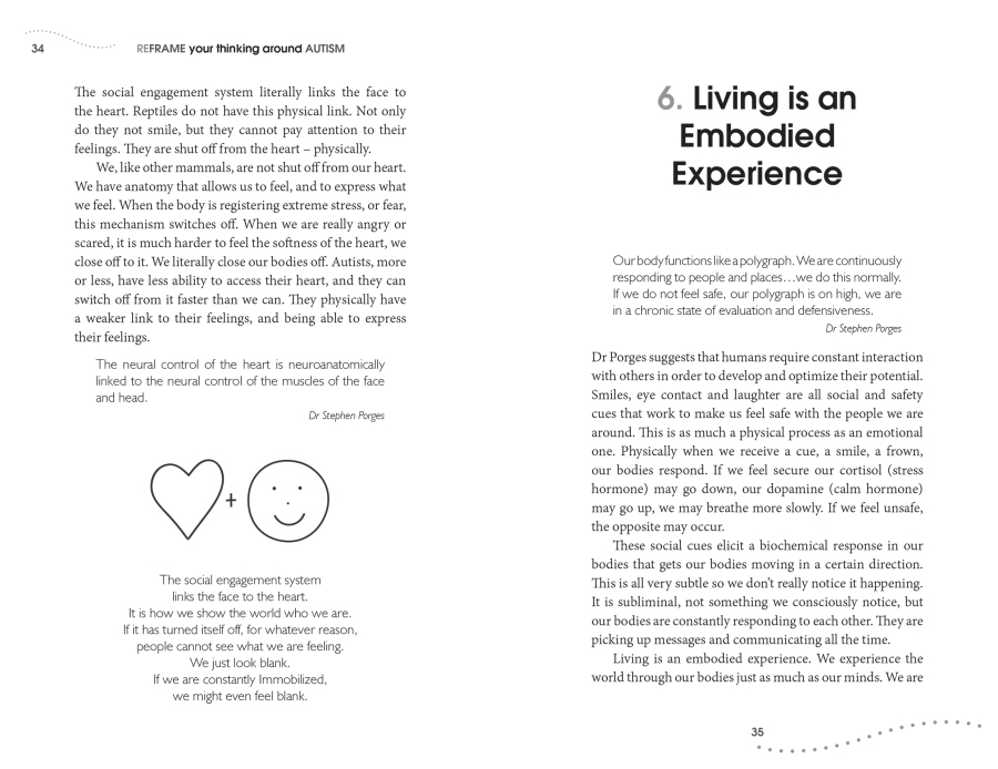 Bridges - reframe your thinking around autism pp34-35